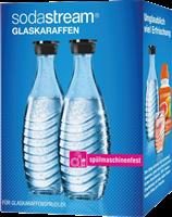 Sodastream Duo-Pack / 2x glass carafe 0,6 L Transparent