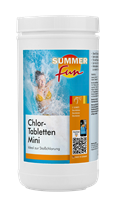 Chlor-Tabletten Mini 1,2 kg Summer Fun 502010754