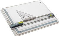Profi Plus A3 Zeichenplatte 7035, , DIN A3 ARISTO 70-AH7035