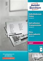 Laser + Kopier-Folie AVERY Zweckform 3480