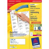 Adress-Etiketten (99,1 x 38,1mm) AVERY Zweckform L7163-100