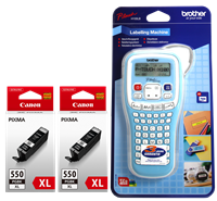 Value Pack Canon PGI-550pgbk XL MCVP