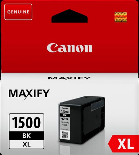 Druckerpatrone Canon PGI-1500bk XL