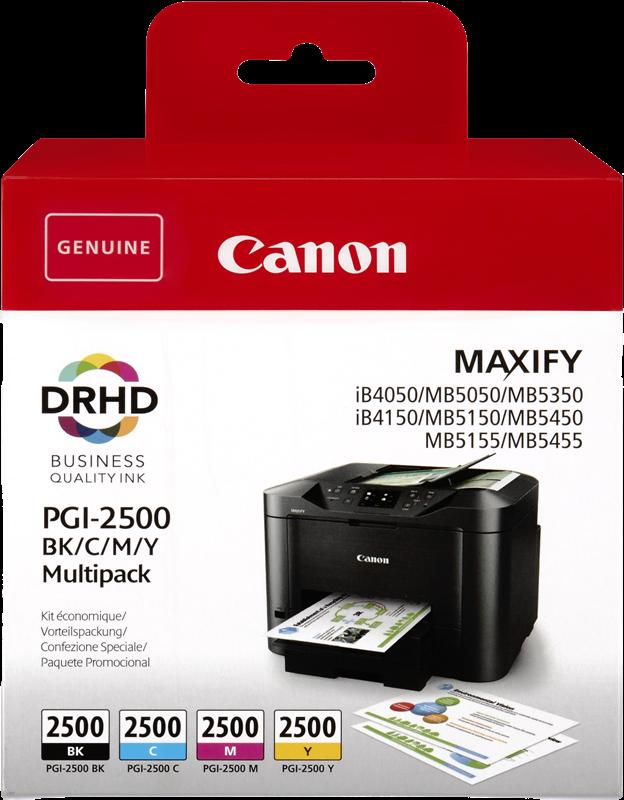 Multipack Canon PGI-2500 multi