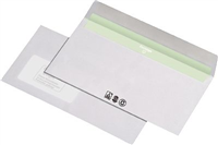 Envirelope BU 227540, weiß, DL, mF, HK, 80g Envirelope CO2frei 227440