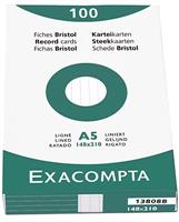 Karteikarten, liniert Exacompta 13808B