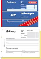 Quittungsblock A6 2x40Blatt sd Herlitz 00886622