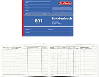 Fahrtenbuch A6 40 Blatt Herlitz 00840645