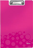 Klemmbrett WOW, pink metallic Leitz 4199-00-23