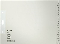 Papierregister A-Z Leitz 1210-85