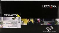 Toner Lexmark C734A1YG