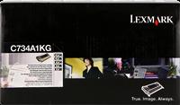 Toner Lexmark C734A1KG