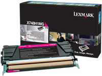 Toner Lexmark X748H1MG