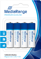 Alkaline Batterien AA LR6 MediaRange MRBAT104