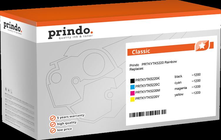 Value Pack Prindo PRTKYTK5220 Rainbow