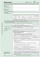 Mietvertrag, mit Übergabeprotokoll, 524 RNK 524/3