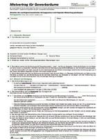 Gewerberaum-Mietvertrag RNK 598/10
