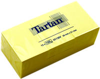 Haftnotizen 38x51mm Tartan 05138V