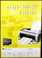 Etiketten (105x74mm) TOP STICK 8716