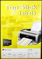 Etiketten (70x32mm) TOP STICK 8704