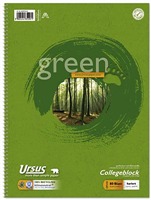 Collegeblock 80 Blatt, m.Umweltengel Ursus 608575020