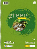Collegeblock 80 Blatt, m.Umweltengel Ursus 608575026